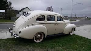 1940 mercury sedan sedan 69 730 miles cream 239 v8 manual for sale