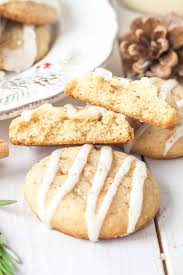 eggnog cookies with rum sugar glaze liv for cake