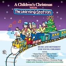 christmas cd a children s christmas cd the learning station