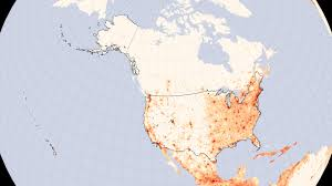 Houston Map Usa by United States Population Density Image Of The Day