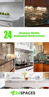 kitchen marble backsplash 24 gorgeous marble backsplash kitchen ideas 24 spaces