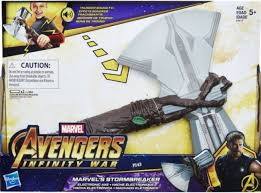 avengers infinity war thor s new hammer s name revealed as