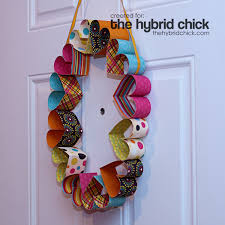 s day wreaths cheery paper heart wreath family crafts