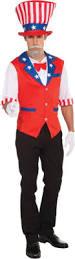 Patriotic Halloween Costume Ideas Uncle Sam Costume Costumes 4th July