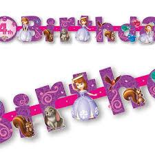 sofia the birthday roseoftheparty rakuten global market european birthday banner