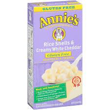 amazon com annie u0027s gluten free macaroni and cheese rice shells