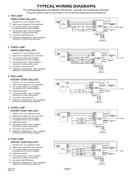 voltage output electronic ballast wiring diagram 277v color