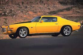 73 split bumper camaro 1972 chevy camaro car chevy magazine