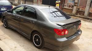 toyota corolla s 2005 for sale lagos cleared tokunbo 2006 toyota corolla sport edition for