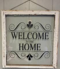 home decor address vintage single pane window personalized by vaughncustomcreation