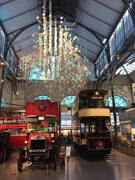 the main hall of the london transport museum formerly a covent