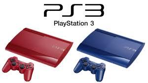 playstation 3 console black friday red u0026 blue ps3 super slim unveiled 500gb 250gb february 28