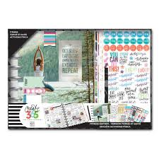 create 365 the happy planner 12 month box kit fitness edition