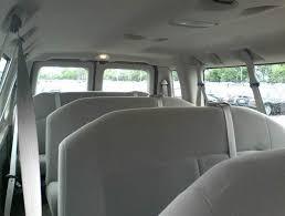 Ford Van Interior 11 Passenger Van E350