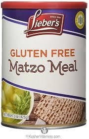 gluten free passover products lieber s kosher gluten free matzo meal gluten free passover 15