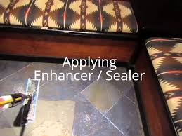 Best Way To Clean A Slate Floor by How To Clean And Seal Slate Flooring Youtube