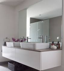 Large Mirrors For Bathrooms Bathroom Interior Frameless X Mirror Large Mirrors For