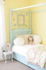 A Shabby Chic Glam Girls Bedroom Design Idea In Blush Pink White - Bedroom colors for girls