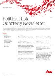 political risk map newsletter q4 2015