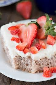 strawberry cake the first year