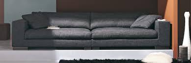canapé tissu noir canape en tissu intérieur déco