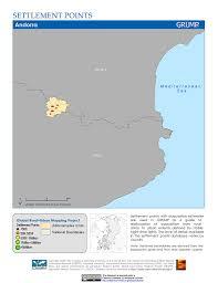 Andorra Map Map Gallery Sedac