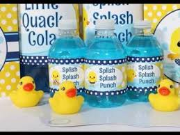 duck baby shower decorations rubber duck baby shower decorations