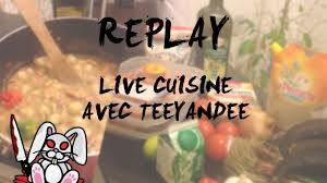 replay cuisine replay live cuisine teeyandee azria