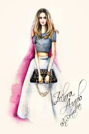 how to make fashion illustration sketches