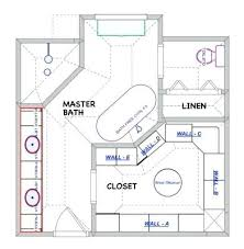 large master bathroom floor plans ensuite bathroom design plans closet master bath closet floor plan