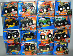 wheels monster jam trucks wheels monster jam rev tredz friction powered monster truck 1 43
