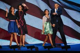 Obama First Family by First Family U2013 Election Night Fashion Daily By Morin