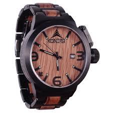 cadeau en bois pour femme montre en bois pour homme et femme originale u0026 unique konifer
