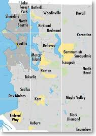 seattle map by county seattle sub forum includes all of king county bellevue federal