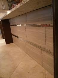 Best Back Splash Ideas Images On Pinterest Glass Tiles X - Linear tile backsplash