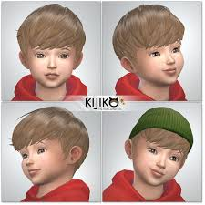 childs hairstyles sims 4 the sextuplets kijiko