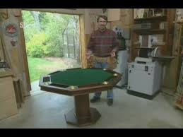 how to build a poker table how to build a poker table for up to 8 players youtube