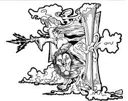 lion witch wardrobe clipart