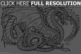 7 best images of detailed dragon coloring pages free printable