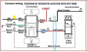 two way motion sensor light switch 2 way switch wiring diagram motion wiring diagram