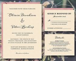 Wedding Invite Template Printable Wedding Invitation Template Suite Instant Download