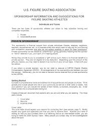 format for sponsorship letter images letter samples format
