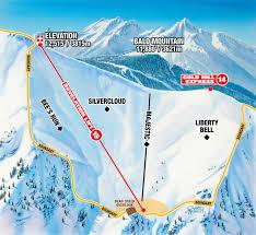 Bear Creek Trail Map Skiing Snowboarding Telluride Com