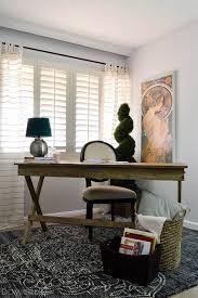 vintage home decor on a budget vintage eclectic office makeover with world market campaign desk