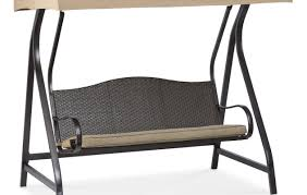 Outdoor Living Patio Furniture Bench Amazing Porch Bench Glider Jaclyn Smith Cora Cushion