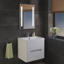 Bathroom Cabinets With Mirrors And Lights by Mirrors Elegant Backlit Bathroom Mirror For Your Modern Bathroom