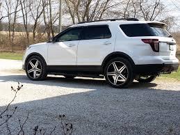 2013 ford explorer upgrades aftermarket wheels for the explorer sport