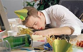 Sleeping At Your Desk New Year 2014 Work Hangover 7 Ways To Handle It Telegraph