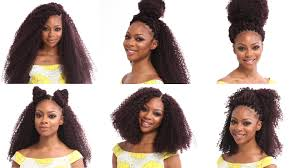 hairstyles with xpression braids crochet braids tutorial how to install and style x pression kinky