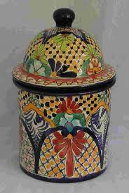 talavera canisters